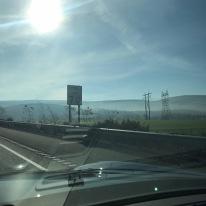Leaving Columbia County on I80 East